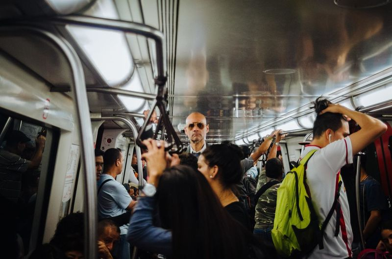 Metro Inhabitants Group Of People Real People Women Men Crowd Adult Large Group Of People Public Transportation Transportation Mode Of Transportation Group City Business Travel Occupation Teamwork Window Indoors  Street Photography EyeEm Best Shots EyeEm Selects The Art Of Street Photography The Street Photographer - 2019 EyeEm Awards