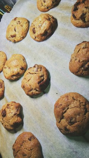 High Angle View Food Close-up No People Ready-to-eat Day Indoors  Cookies Baking