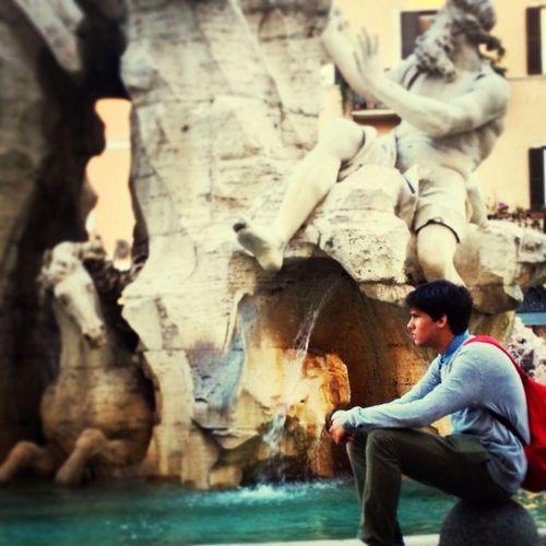 Rome Piazza Navona Italy