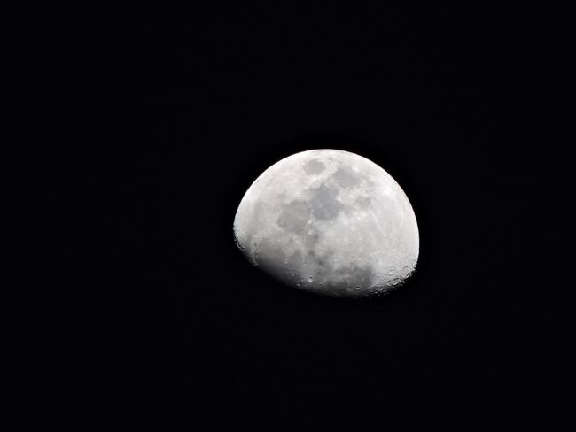Moon shot Moon Night Astronomy Full Moon Black Color Nature Beauty In Nature Space Moon Surface Sky No People Outdoors Scenics Black Background Close-up Midnight