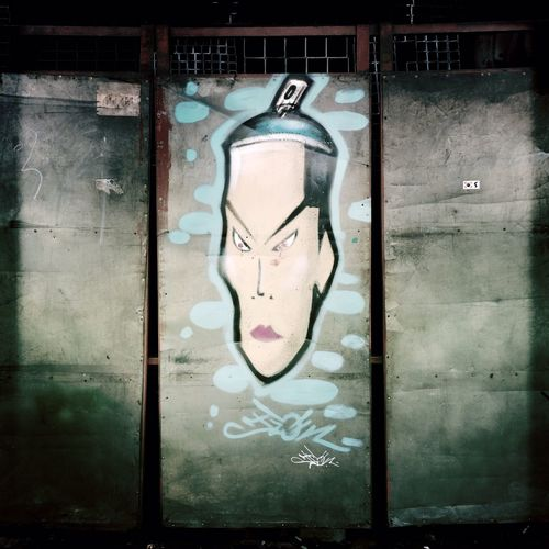 Ironworks door Hipstamatic South Korea Seoul Street