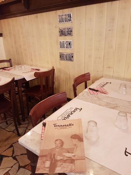 Trastevere City Old Restaurant Pasta And Beans Tonnarelli