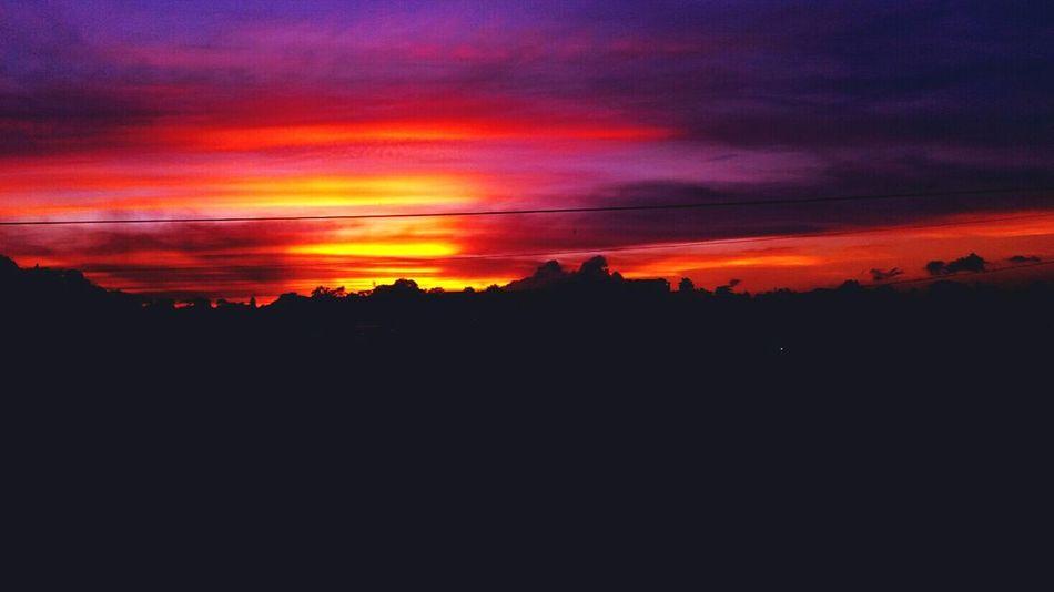 Sunset Rare Skies