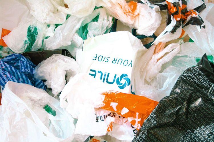 Plastic bags Garbage Bag Garbage Waste Trash Packages Bags Bags Are Packed Plastic Waste Plastic Bag Plastic End Plastic Pollution Retail  Sale Package Market Stall Fish Plastic Environment - LIMEX IMAGINE