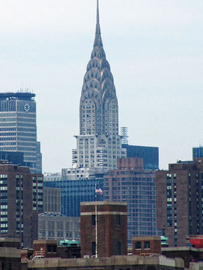 Architecture Building Exterior Built Structure Chrysler Building City Cityscape Day Modern New York City No People Outdoors Sky Skyscraper USA