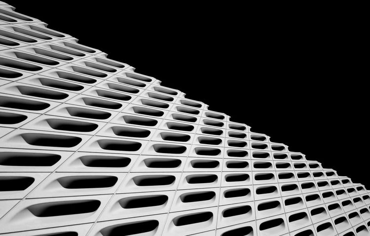 The Broad Museum, Downtown Los Angeles First Eyeem Photo The Broad Culture Architecture Los Angeles Architecture Modern Architecture Grand Avenue Blackandwhite Photography Architectural Photography DowntownLA Downtown Los Angeles