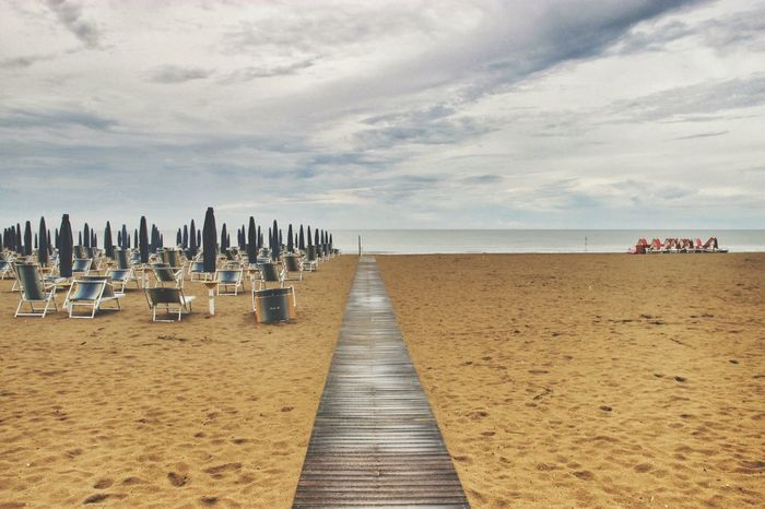 Cloudy day | Capturing Freedom At The Beach Sand Clouds And Sky Getting Inspired Colorsplash Fresh 1 EyeEm Italy |