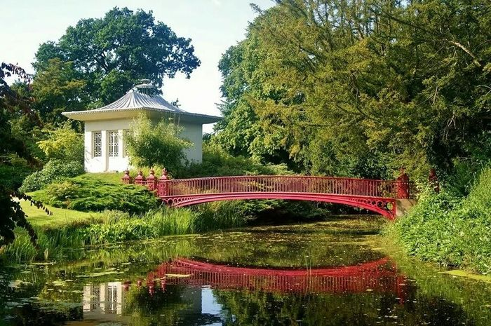 The Shugborough Estate Bridge Chinese Bridges River View Nikon D3200 River Hello World Enjoying Life Peaceful