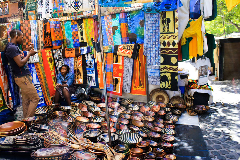 Cape Town Market Cape Town, South Africa Market Market Market Stall Multi Colored Outdoors Real People Retail