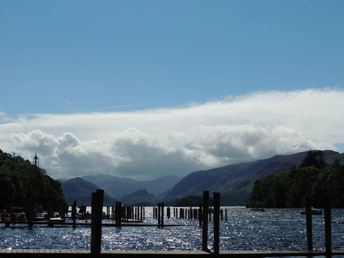 Cumbria Derwent Water Derwentwater England Countryside Lake District Beauty In Nature Blue Cloud - Sky Day Lake Mountain Mountain Range Nature No People Outdoors Scenics Sky Tranquil Scene Tranquility Tree Water