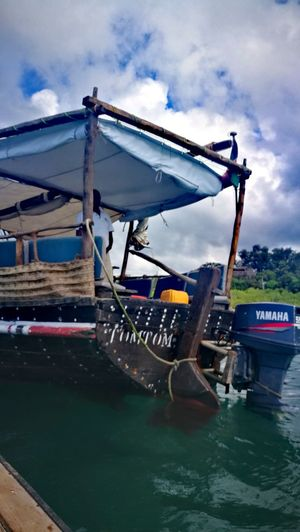 Nautical Vessel Water Outdoors Sea Day One Man Only Adult Only Men One Person Nature People Sky Gondola - Traditional Boat Oil Pump