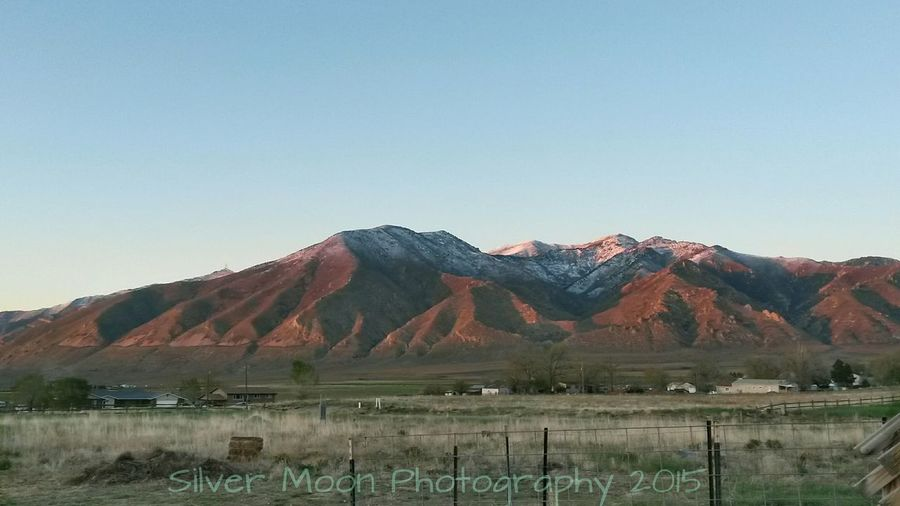 Reflections of a Sunset Relaxing Erda, Utah Utah April2015 Taking Photos Mountain View