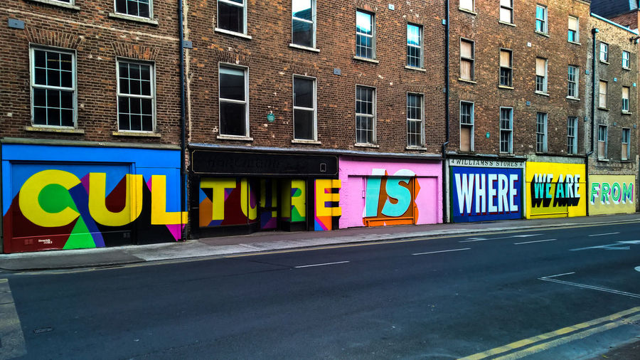 Architecture Building Exterior Built Structure City Day Limerick Limerick 2020 Limerick City Limerick Culture Multi Colored No People Outdoors