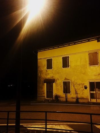 Second home Built Structure Architecture Building Exterior Window Night No People Illuminated