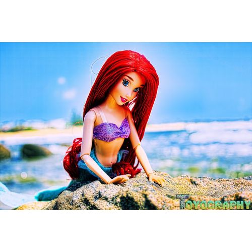 Ariel 😍 Ariel Thelittlemermaid Disney Disneystore Disneyprincess Toyography Ata_dreadnoughts Toycommunity Sunshinecoast Moffatbeach Caloundra