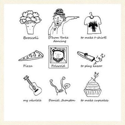 Things I love, available in www.chiaralascura.it, organic cotton t-shirt or Tencel (eucalyptus fabric) crop top. #illustration #naive #broccoli #kazoo #ukulele #danieljohnston #vegancupcakes #pizza #thomyorke #radiohead #polaroid #hipster #oraganiccotton Vegancupcakes Veganfashion Pizza Ecofashion Polaroid Tencel Illustration Fairtrade Danieljohnston Ukulele Kazoo Thomyorke Radiohead Oraganiccotton Hipster Broccoli Vegansofig Naive Chiaralascura Fairwear