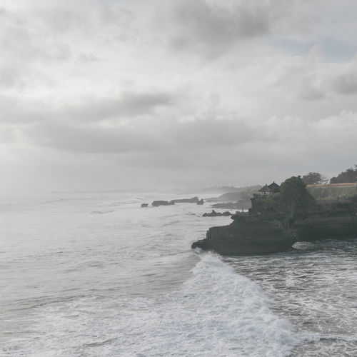 Tanah Lot bali Bali Bali, Indonesia Beauty In Nature Day Horizon Over Water Nature No People Outdoors Scenery Scenics Sea Sky Tranquility Water Waterfront Wave