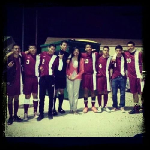 My High School Soccer Team For Ever <3