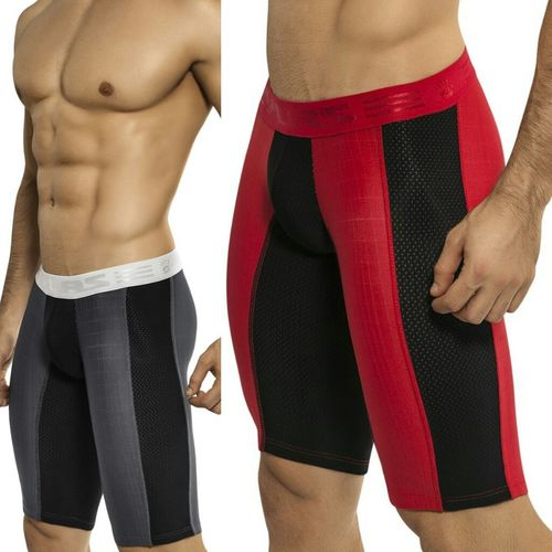 long length sports boxer briefs style 0031 available at www.esexymale.com We Stay Ready Team Jock We Come Hard We Rock Fashion