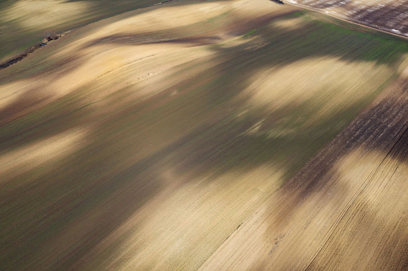 Aerial view of agricultural lands, natural pattern of plowed terrain, brown and yellow soil from a drone No People Pattern Pattern, Texture, Shape And Form Backgrounds Agriculture Soil Earth Land Meadow Yellow Clay Plowed Field Agricultural Field Terrain Spring Aerial View Aerial Aerial Photography Aerial Shot Aerial Landscape Drone  Dronephotography Drone Photography Droneshot Agricultural Land
