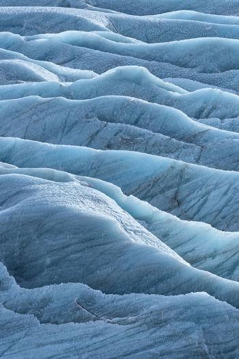 Full Frame Shot Of Glacier