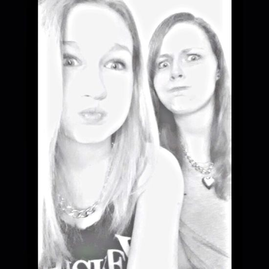 My Lovely Sister And Me Black And White Freak