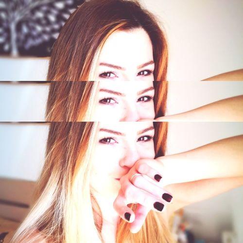 myself,me and i Nail Polish Mascara Fingernail Iris - Eye Visual Creativity
