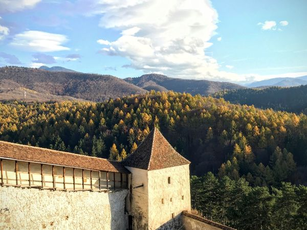 Architecture Autumn Autumn Colors Beauty In Nature Citadel Day Forest Heritage History Mountain Nature Outdoors Scenics Sky Tourism Tranquil Scene Tree Trees