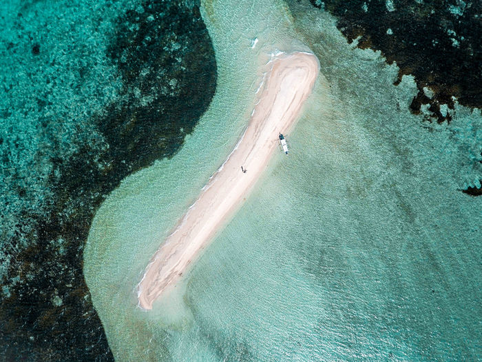 Beauty In Nature Day Eyeem Philippines High Angle View Island Nature Outdoors Sandbar Fresh on Market 2017 Lost In The Landscape Perspectives On Nature