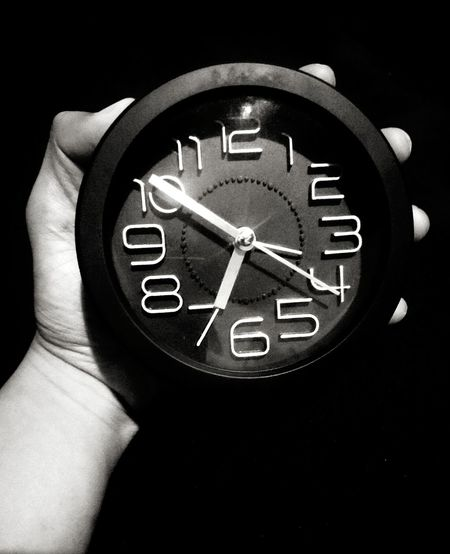 Clock Human Hand Time Human Body Part Clock Face Number Watch Clock Minute Hand Wristwatch One Person Close-up Communication One Man Only People Studio Shot Indoors  Only Men Adult Hour Hand Day Second Acts Black Blackandwhite Black & White Black Background Be. Ready. EyeEmNewHere EyeEm Ready   AI Now Real People