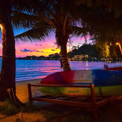 Summer Sun Sunset Sonnenuntergang Boats Thailand