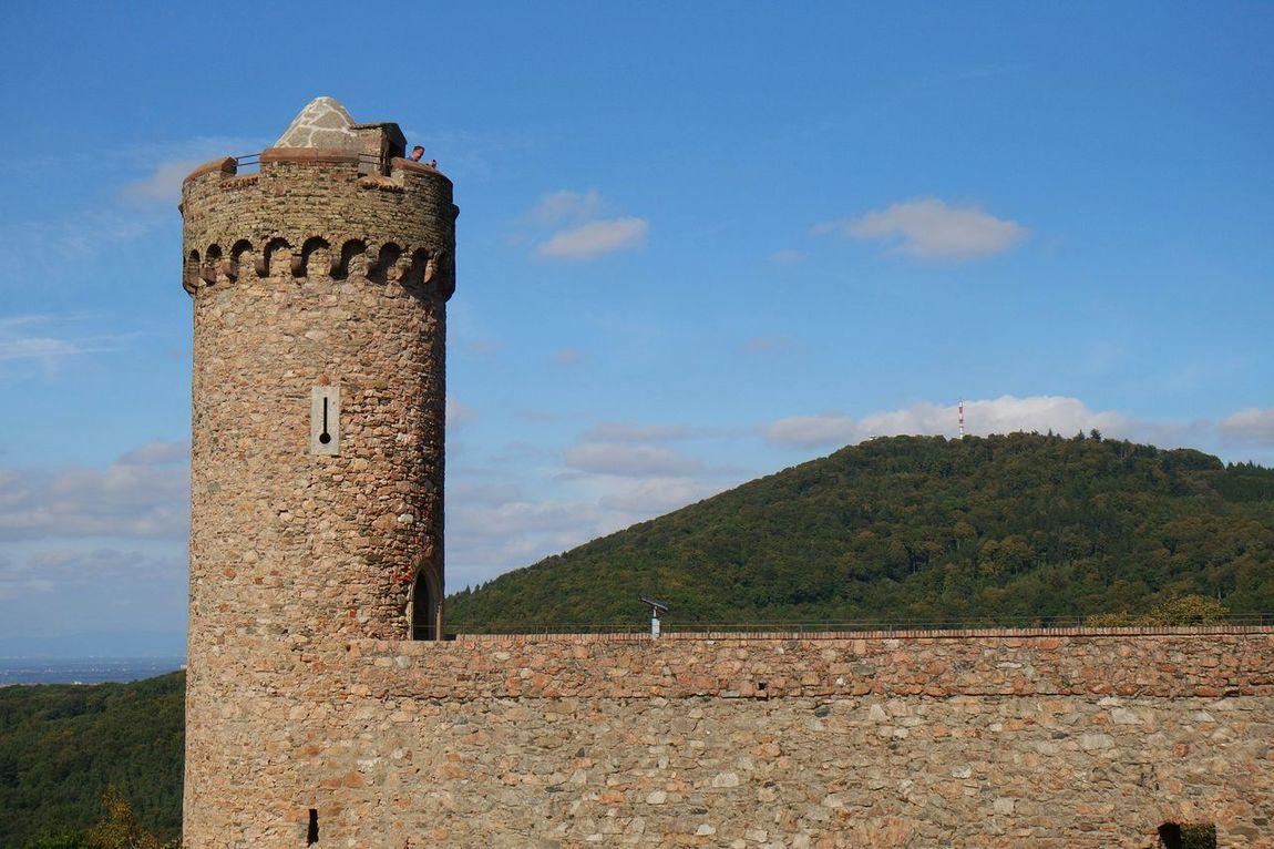 On the castle. ... Taking Photos Check This Out Bensheim-Auerbach Deutschland Landscape