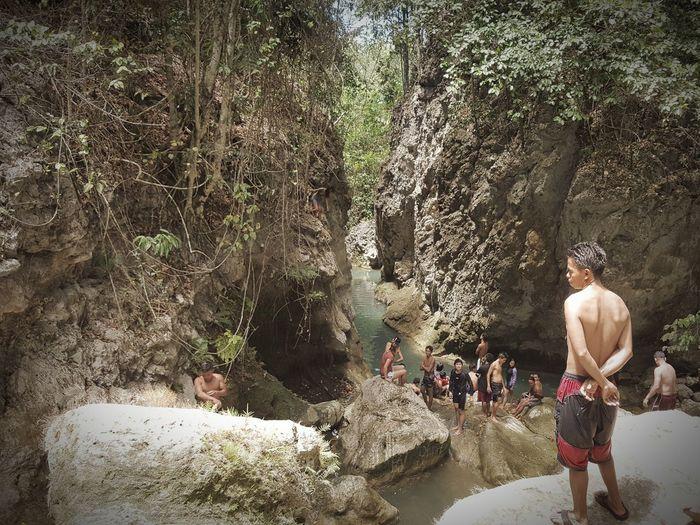 Canyoneering Real People Outdoors Vacations Cebu Adventure Sunlight Summer Trail Shirtless Water EyeEm EyeEm Nature Lover EyeEm Best Shots Eyeem Philippines EyeEm Phillippines