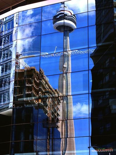 The CN tower in