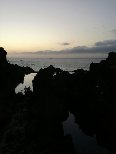 What i really like Breathing Space Tranquility Water Nature Scenics Landscape Horizon Over Water Beauty In Nature Travel DestinationsNatural Pools Porto Moniz Madeira Madeira Islands, Portugal