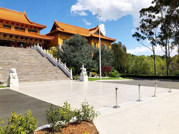 Monastry Built Structure Architecture Plant Building Exterior Tree Sky Nature Place Of Worship