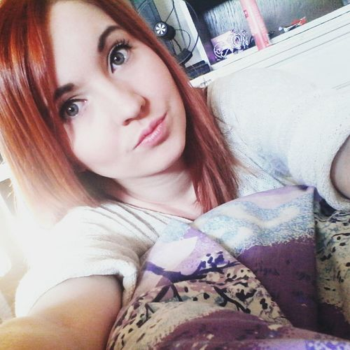 Good Morning✌♥ That's Me Check This Out Today :) Redhead Followme Selfie ✌ Readyforexams Wishmeluck
