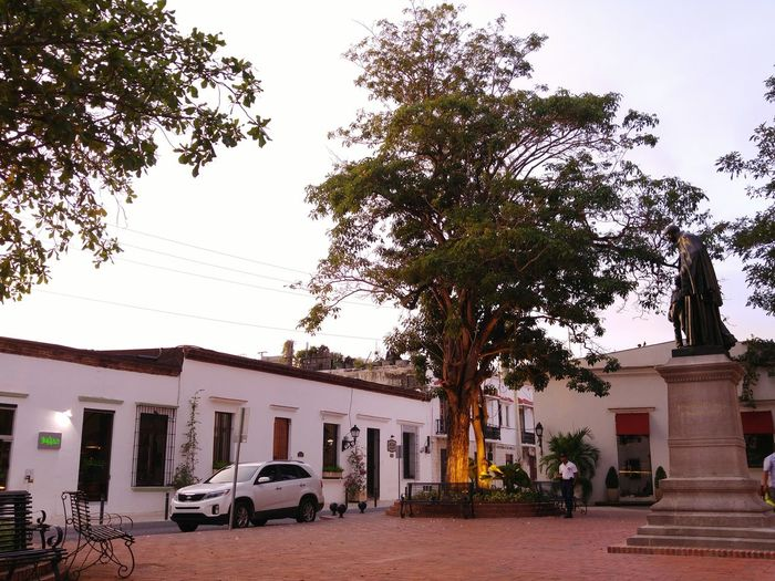 Zona Colonial Patrimonio Patrimony Square Park Dusk Check This Out Dominican Republic Santo Domingo Colonial Style Historical Building Colonial Architecture Meeting Place