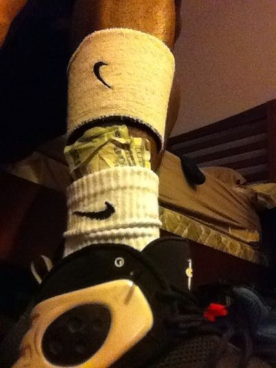 Money In My Nike Socks