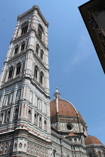 Arch Architecture Astronomical Clock Building Exterior City Clear Sky Clock Clock Face Clock Tower Day Florence Italy Frainf History Low Angle View Medieval Minute Hand No People Outdoors Sky Tower Travel Destinations