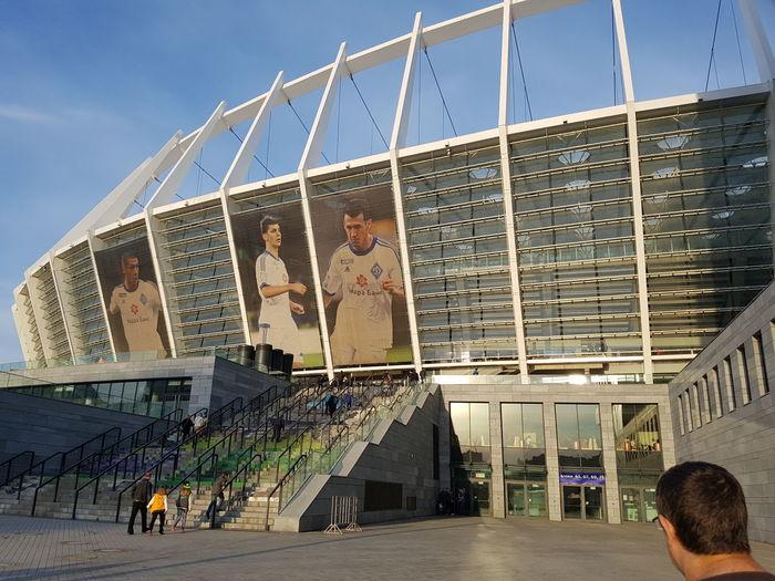 Kiev Ukraine Dynamo Dynamo Kiev Kiev Stadio Olimpico Euro 2012