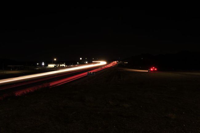 Light trails Speed Light Trail Motion Transportation No People Long Exposure Outdoors High Street