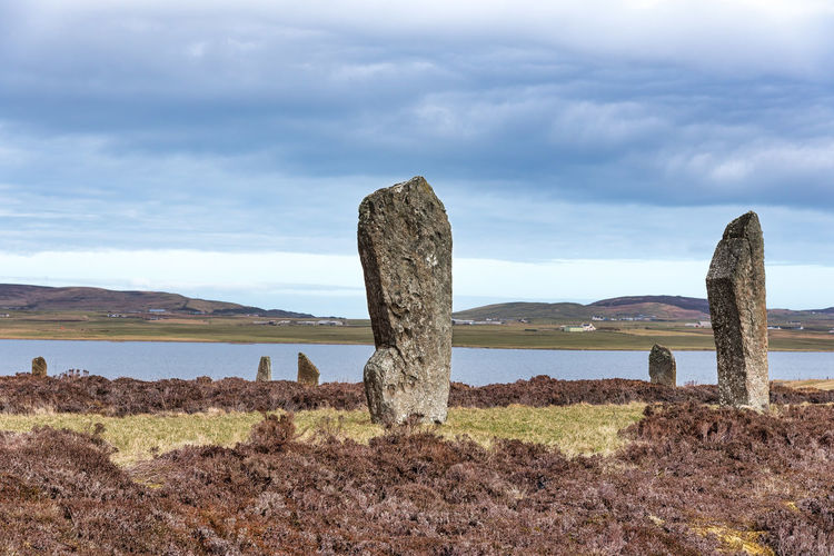 Nature Orkney's Day History Holiday Destination Man Made Historic Structure No People Sky Stonestructures The Riong Of Brodgar, Stenness