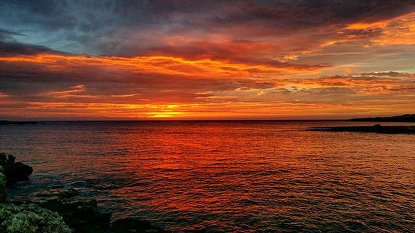 Awesome sunrise today😎!Sunrise Sunshine Colours Orange Clouds Sea Sun Coast Awesome Relax Perfect Reflex Greatview Instapic Instadaily Instamoment Instanature Nature Naturelovers DailyShot Pic Picoftheday GreatNight