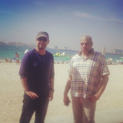 Nice sunny day out with @shehab4math