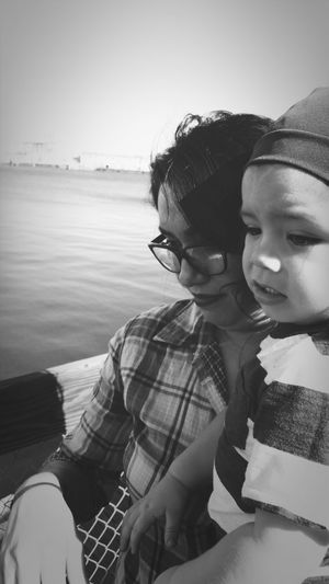 Forever kind of love Mommy And Son San Pedro Ocean