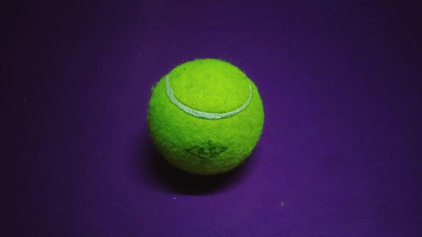 Tennis Tennis Ball Racket Sport Sport Colored Background Ball Close-up Green Color Tennis Net Table Tennis