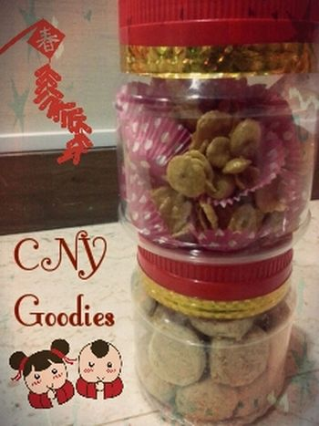 Cny Goodies Received Thanks