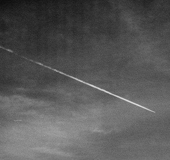 Plane Plane Trace Vapor Trail Contrail Textured  Full Frame Backgrounds Close-up White Line