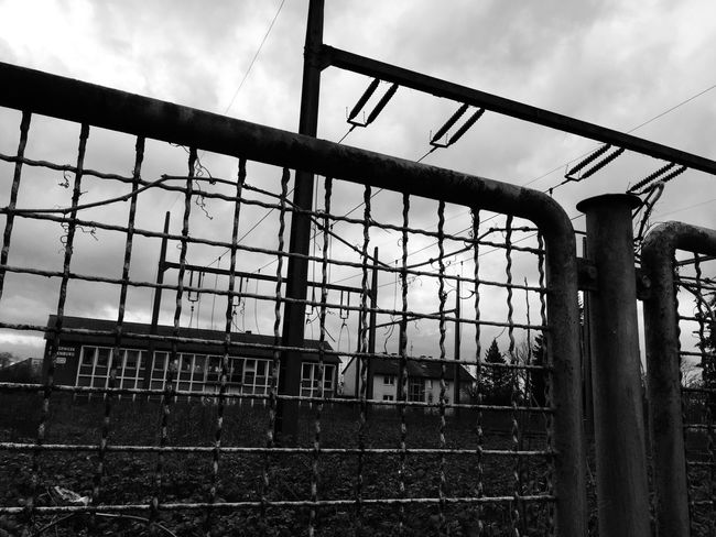 Photography Blackandwhite Electricity  Fence Nature Old Showcase: February